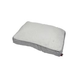 coussin chien rectangulaire newton 60*45cm gris clair
