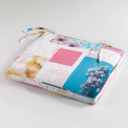 coussin de chaise 43 x 37 x 5 cm polyester photoprint aquarella