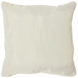Coussin passepoil 40 x 40 cm polyester uni essentiel Naturel
