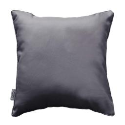 Coussin passepoil 60 x 60 cm polyester uni essentiel Beton