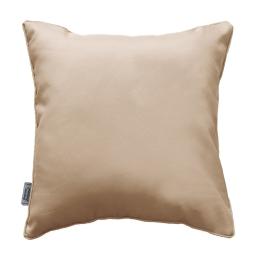 Coussin passepoil 60 x 60 cm polyester uni essentiel Lin