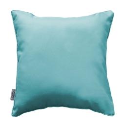 Coussin passepoil 60 x 60 cm polyester uni essentiel Menthe