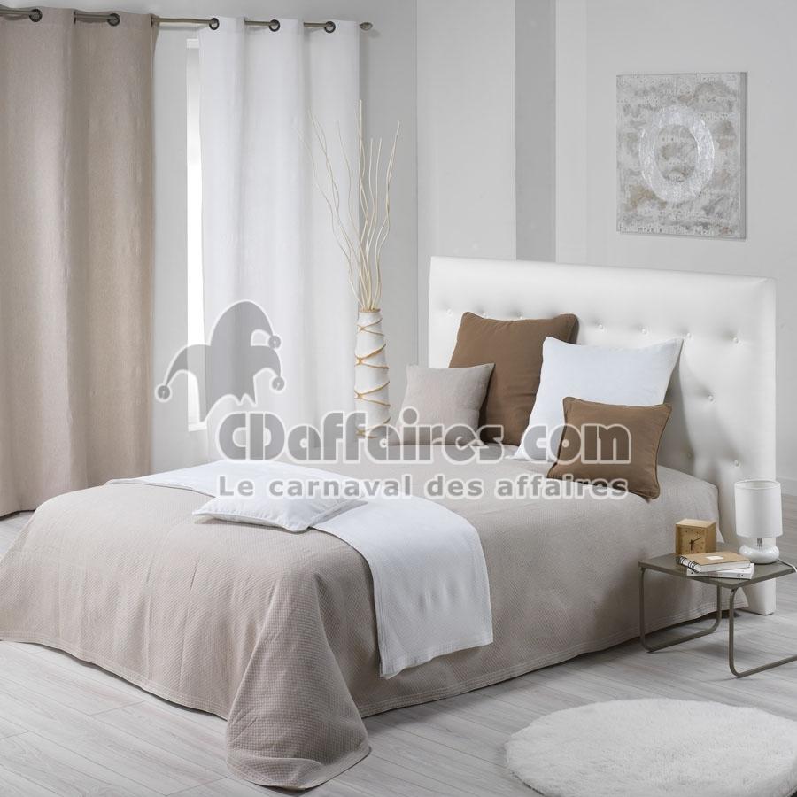 et couvre lit en lin lav plaid gaufr en lin lav pictures to pin on pinterest. Black Bedroom Furniture Sets. Home Design Ideas