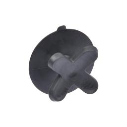 crochet ventouse plastique vitamine noir