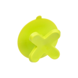 crochet ventouse plastique vitamine vert anis