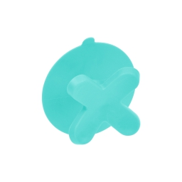 Crochet ventouse plastique vitamine vert menthe Vert/menthe