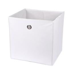 cube de rangement intissé l31*p29*h31cm blanc