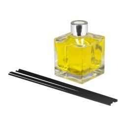 diffuseur de parfum carré - 170ml - parfum sentier de mimosa
