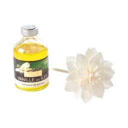 diffuseur fleur bois 50ml vanille
