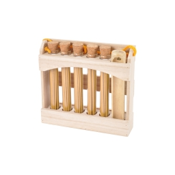 display  5 tubes de 20 encens japonais vanille- avec porte encens en bambou