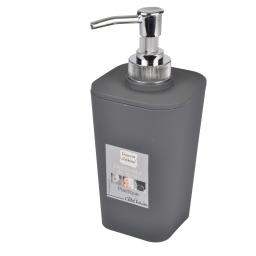 Distrib savon effet soft touch  douceur d'interieur theme vitamine Anthracite
