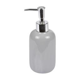 distributeur de savon ceramique vitamine gris clair