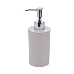 distributeur de savon plastique martelé urban taupe