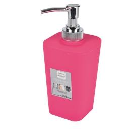 Distributeur savon effet soft touch  douceur d'interieur theme vitamine Fuchsia