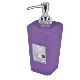 Distributeur savon effet soft touch  douceur d'interieur theme vitamine Prune