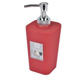 Distributeur savon effet soft touch  douceur d'interieur theme vitamine Rouge