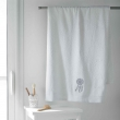 Drap de bain 90 x 150 cm eponge brodee talisman Blanc, image n° 1