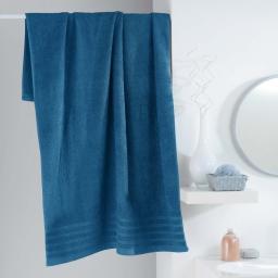 Drap de bain 90 x 150 cm eponge unie vitamine Petrole