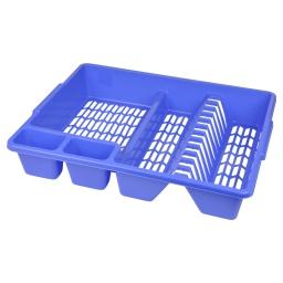 egouttoir vaisselle 47*39*h10cm - indigo