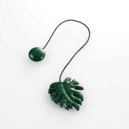 Embrase aimantee l 33 x 5 x 6.5 cm resine fossilia Vert