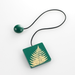 Embrase aimantee l 43 x 6 x 6 cm mdf imprime lisette Or/Vert