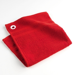 Essuie-main 50 x 50 cm eponge unie chef etoile Rouge