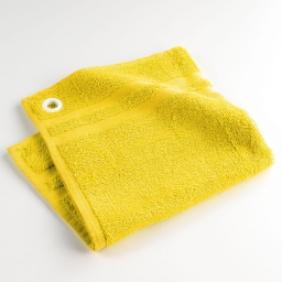 Essuie-main 50 x 50 cm eponge unie liberty yellow Jaune