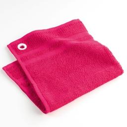 Essuie-main 50 x 50 cm eponge unie pink star Rose