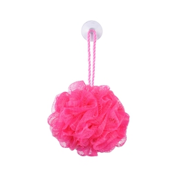 fleur de douche avec ventouse vitamine fuchsia
