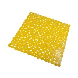 fond de douche galet pvc 52*52cm vitamine jaune