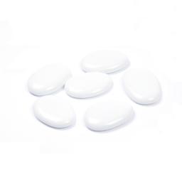 galets decoratifs blanc 250grs - env. 3-4cm