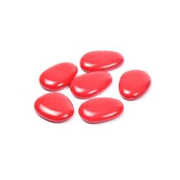 galets decoratifs rouge 250grs - env. 3-4cm