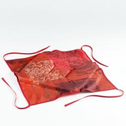 galette 4 rabats 36 x 36 x 3.5 cm polyester imprime roxane
