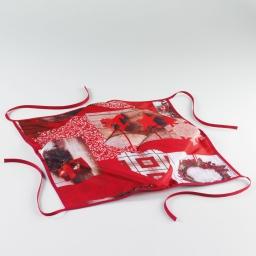 galette 4 rabats 36 x 36 x 3.5 cm polyester photoprint festiva