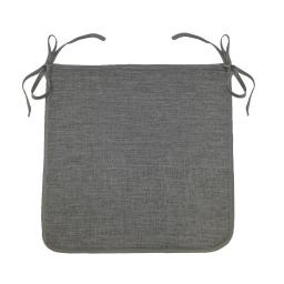 Galette 40 x 40 x 3.5 cm chambray uni newton Anthracite