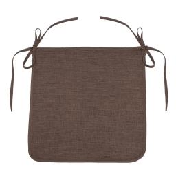 Galette 40 x 40 x 3.5 cm chambray uni newton Choco
