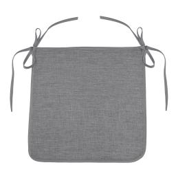 Galette 40 x 40 x 3.5 cm chambray uni newton Gris