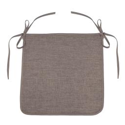 Galette 40 x 40 x 3.5 cm chambray uni newton Lin