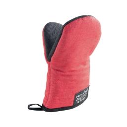 Gant pince 24.5 x 14.5 cm chambray uni+pvc harold Rouge