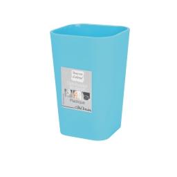 Gobelet (0) 7.3 x 10.6 cm plastique vitamine  effet soft touch Bleu ocean