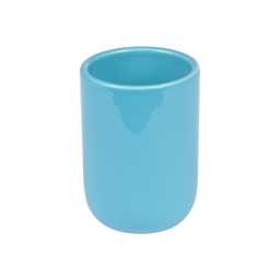 gobelet ceramique vitamine bleu ocean