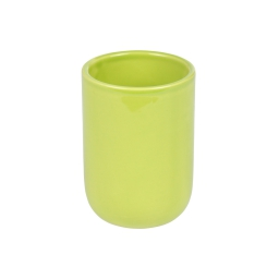 gobelet ceramique vitamine vert anis