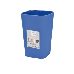 Gobelet effet soft touch  douceur d'interieur theme vitamine Bleu roi