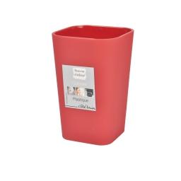 Gobelet effet soft touch  douceur d'interieur theme vitamine Rouge