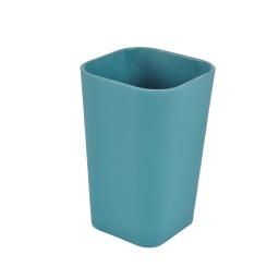 Gobelet plastique effet soft touch vitamine bleu emeraude Bleu/emeraude