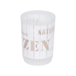 gobelet plastique imprimé zen wood