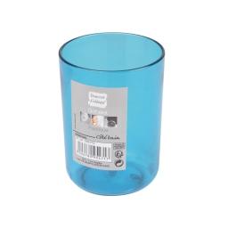 gobelet plastique translucide vitamine bleu ocean