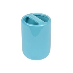 gobelet porte-brosse a dent ceramique vitamine bleu ocean