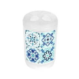 gobelet porte brosse a dent plastique tiles