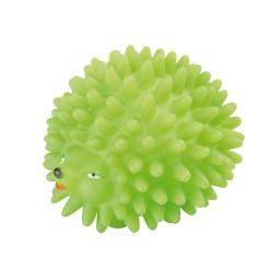 herisson sifflet en vinyl 9 cm vert